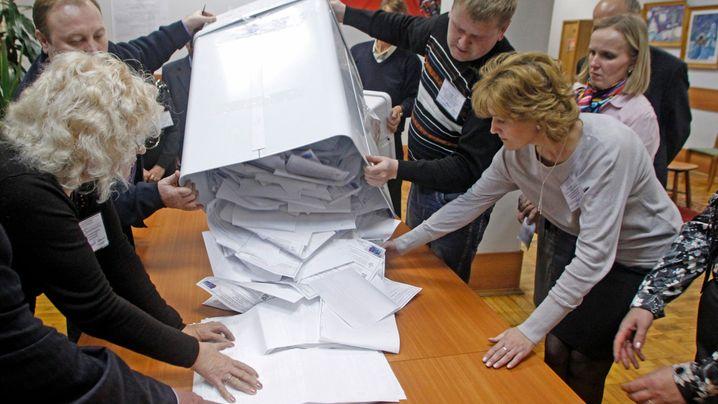 Wahlkuriositäten in Russland: Wir sind 99,47 Prozent - oder?