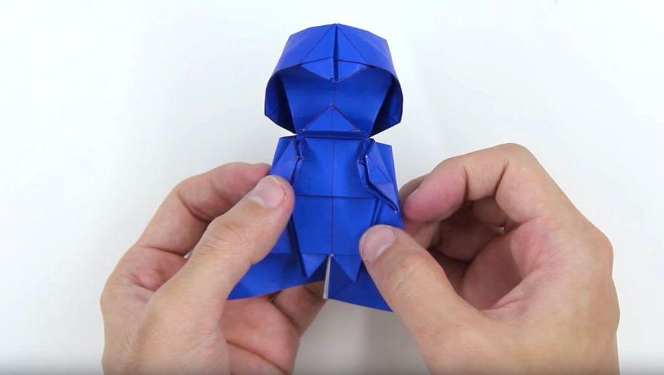 Origami Yoda II: Darth Paper Strikes Back! Folding Instructions + Contest!  #starwars | OrigamiYoda | 536x948