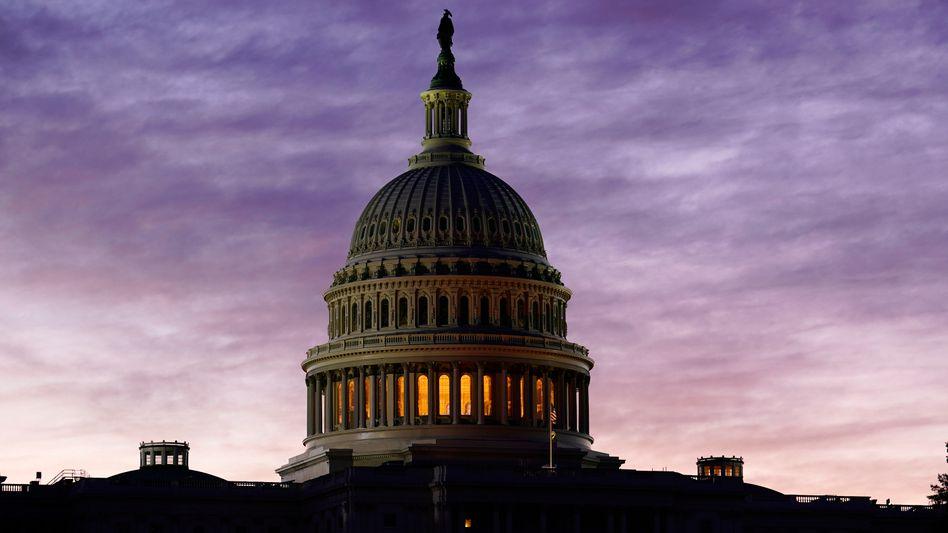 Entscheidung über Hilfpaket im Kapitol: Der US-Kongress hat sich auf ein weiteres Konjunkturpaket geeinigt