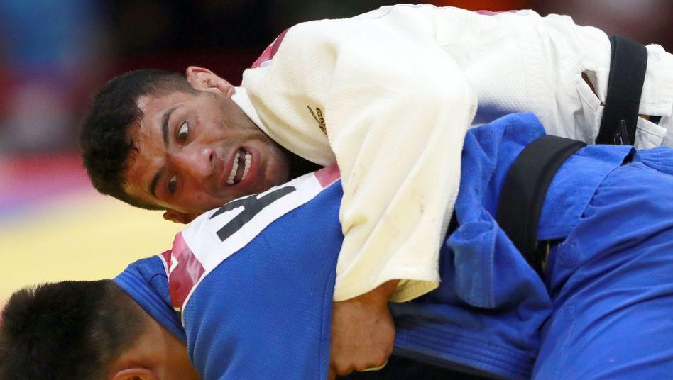 Judoka Saeid Mollaei bei den Asian Games 2018