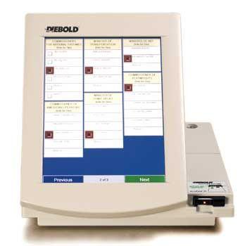 Umstritten: Diebolds Wahlmaschinen