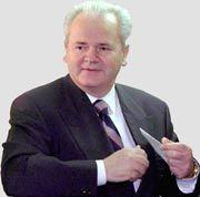 Es wird ernst für Slobodan Milosevic