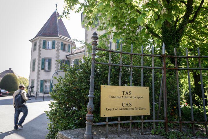 Sportgerichthof Cas in Lausanne