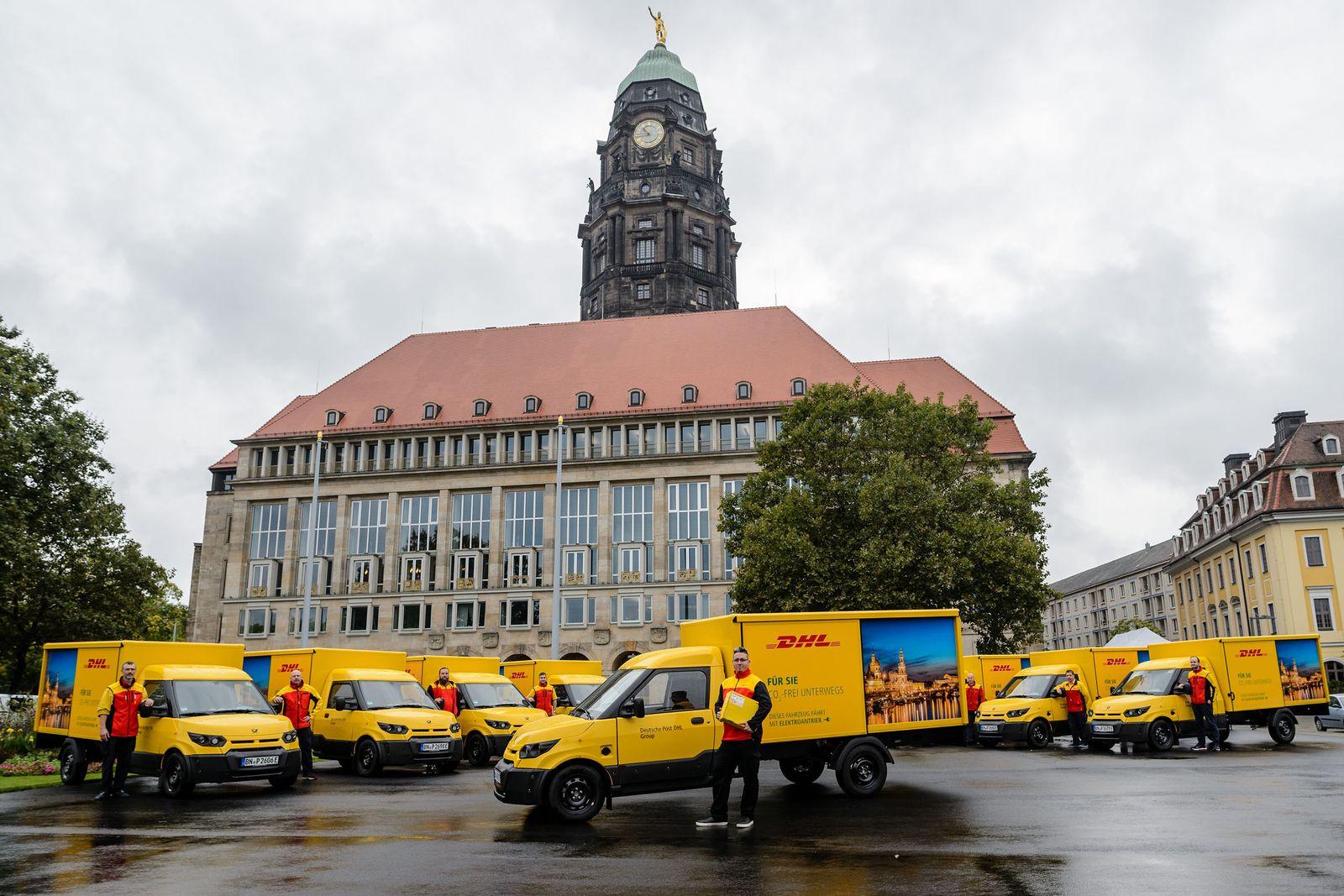 Deutsche Post DHL Group gibt Startschuss für E-Mobilität