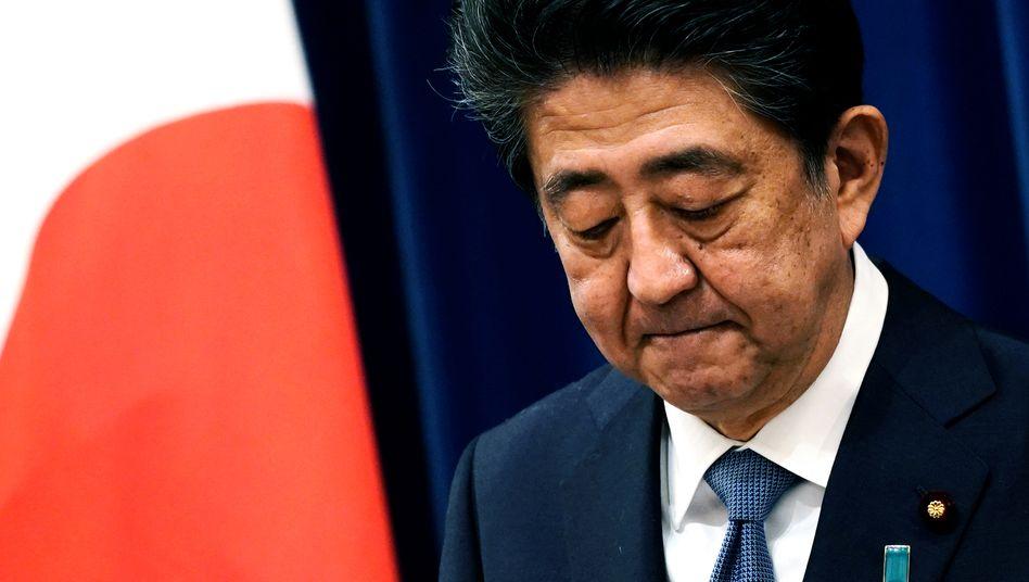 Zum zweiten Mal muss Ministerpräsident Abe aus gesundheitlichen Gründen als Regierungschef zurücktreten