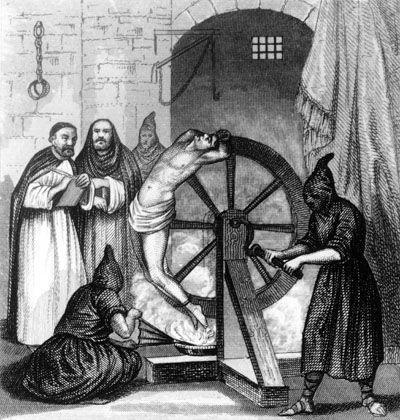Folterszene während der Spanischen Inquisition: Kuttentragende Sadisten oder Reformer?