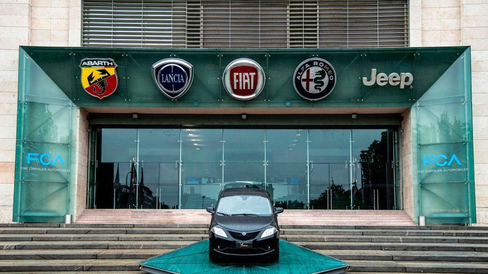 Die Marken des FCA-Konzerns