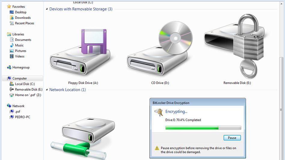 Festplatten-Icon bei Windows: Achtungserfolg für Sicherheitsforscher