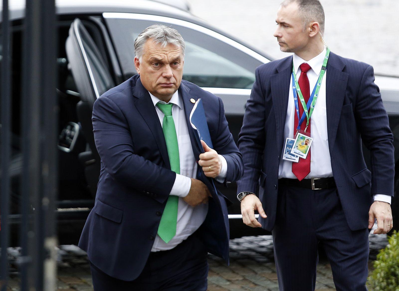 Viktor Orban EVP Treffen