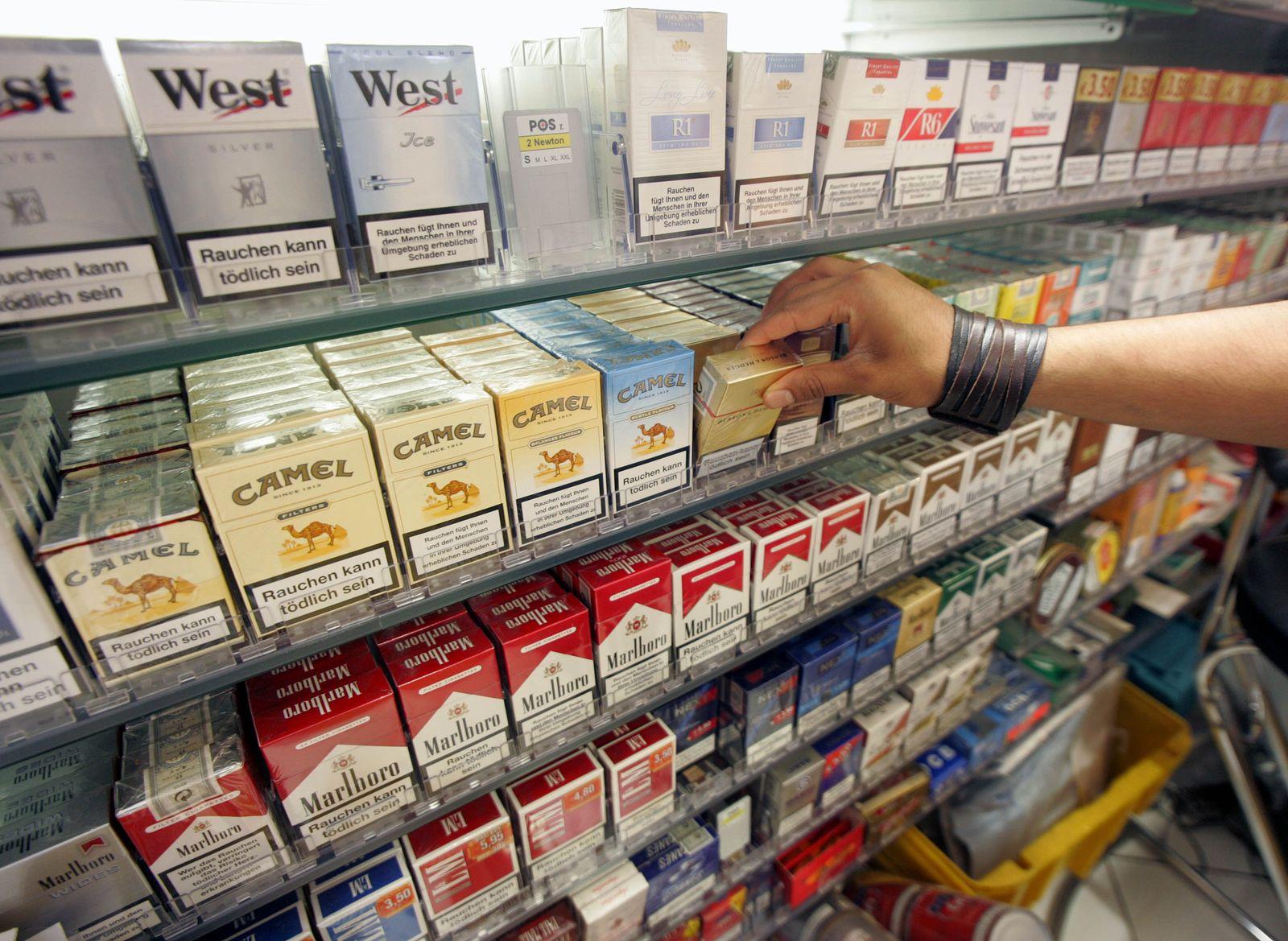 zigaretten im regal