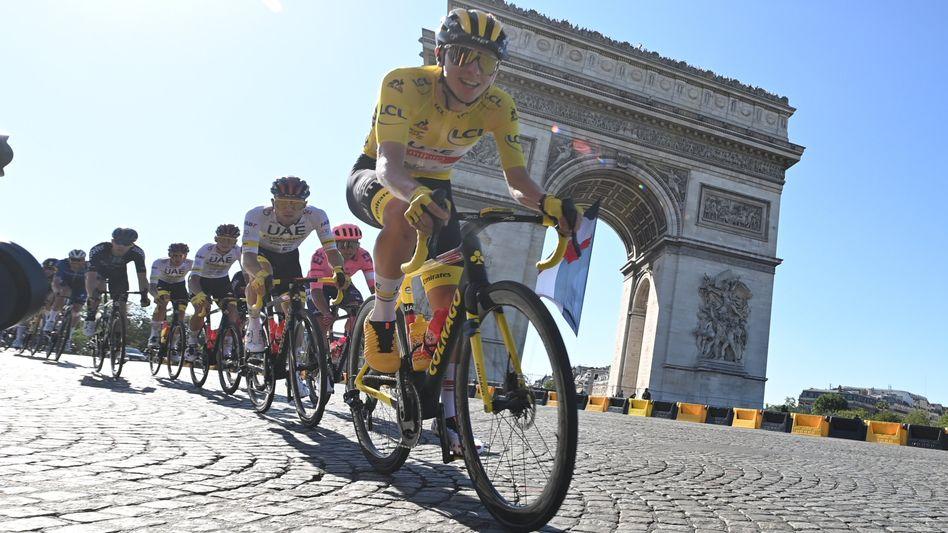 Tadej Pogačar gewinnt nach der Tour de France 2020 auch im Jahr 2021 die Frankreich-Rundfahrt