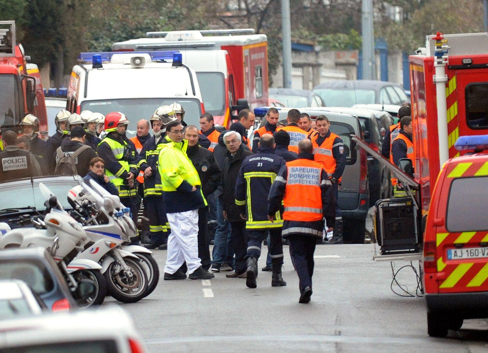 Toulouse/ Mordserie/ Täter umstellt