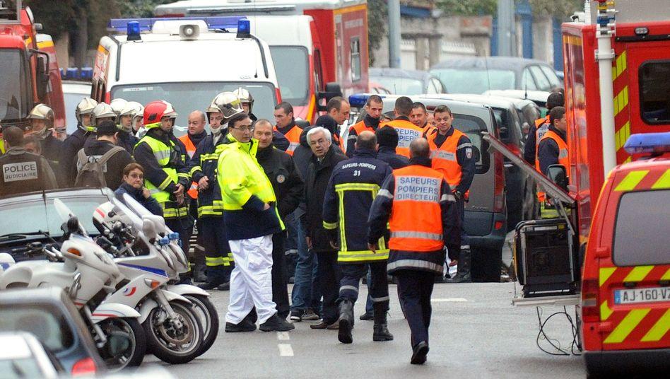 Großeinsatz der Polizei in Toulouse (März 2012): Fahndung nach Attentäter Merah
