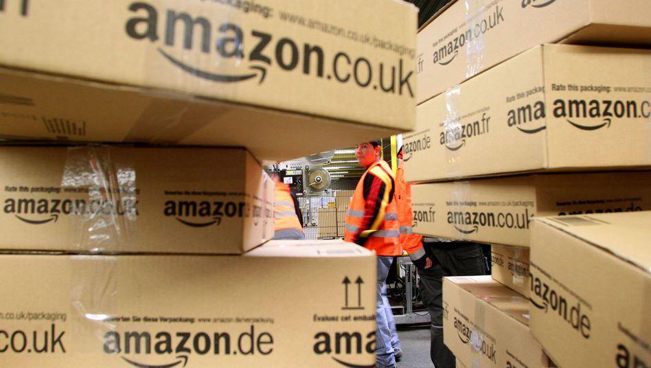 Amazon-Versandzentrum: In den USA soll Google Partner für einen Lieferdienst suchen
