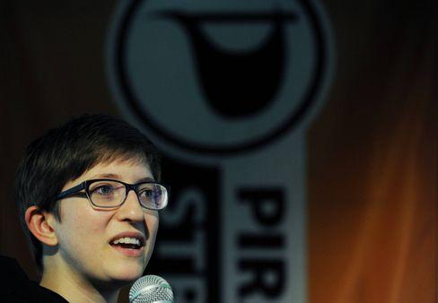 Ehemalige Piratenpolitikerin und EU-Abgeordnete: Julia Reda
