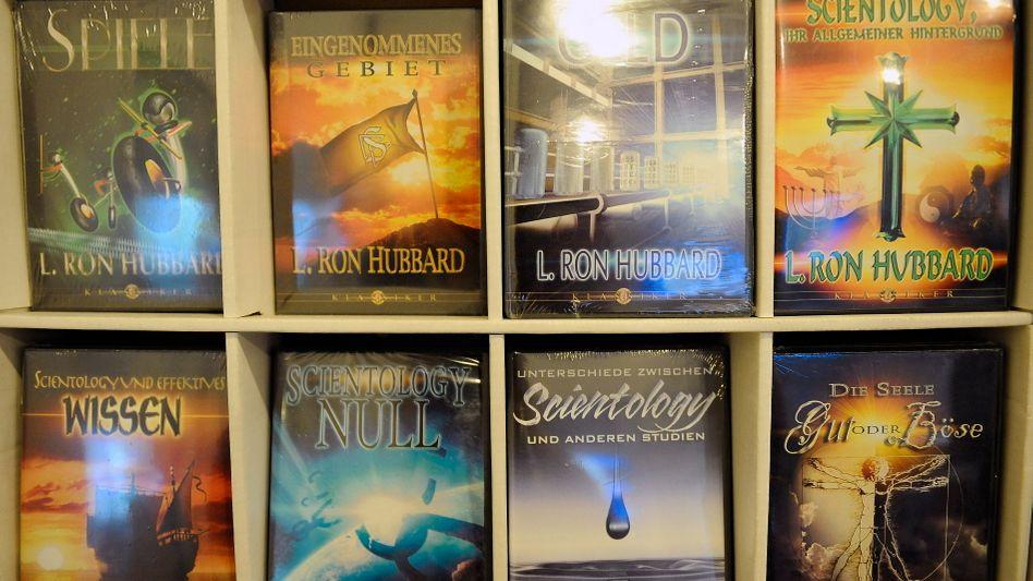 Bücher des Scientology-Gründers in Düsseldorf: Künftig in Russland auf dem Index