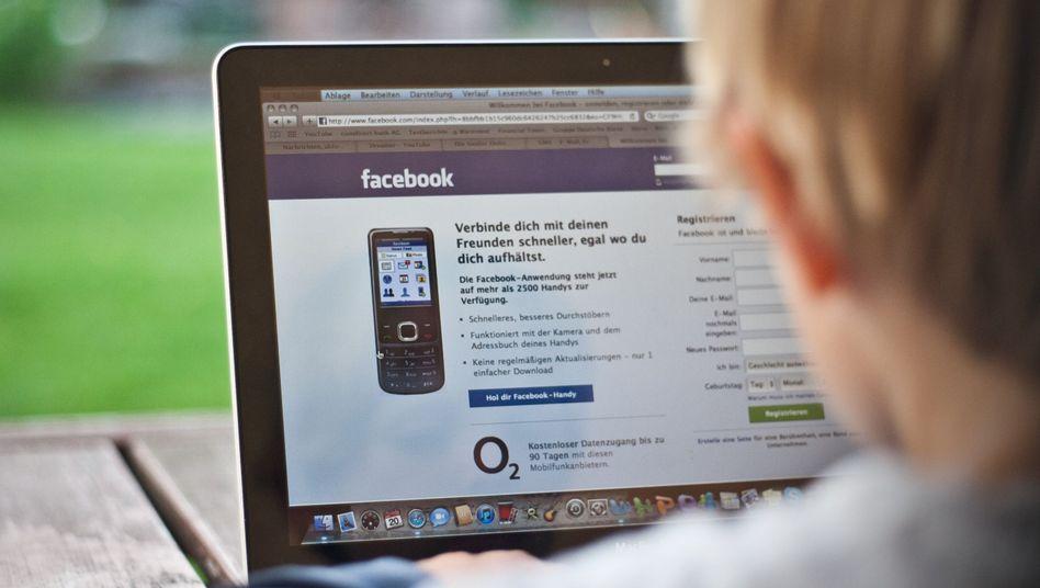 Nicht eingeloggt: Gerade unter den Jüngeren melden sich offenbar viele von Facebook ab