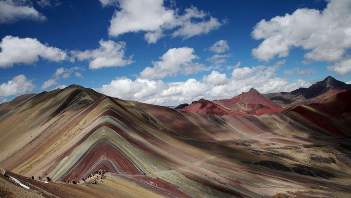Vinicunca in Peru: Der wohl fotogenste Berg der Welt: Der wohl fotogenste Berg der Welt