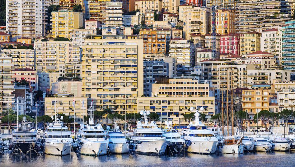 Luxusyachten in Monaco: Die Pandemie hat die Vermögen der reichsten Menschen der Welt nicht verringert, sondern noch weiter vergrößert