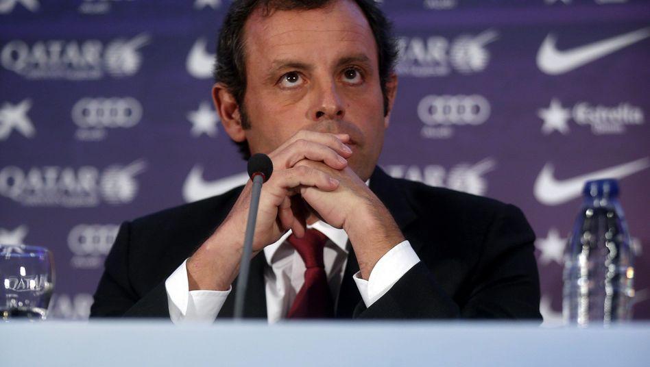 "Barcelona-Präsident Sandro Rosell: ""57,1 Millionen Euro - und nicht mehr"""