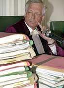 Den Vorsitz im Prozess um die Rückzahlung der FDP-Gelder hat Richter Werner Meyer