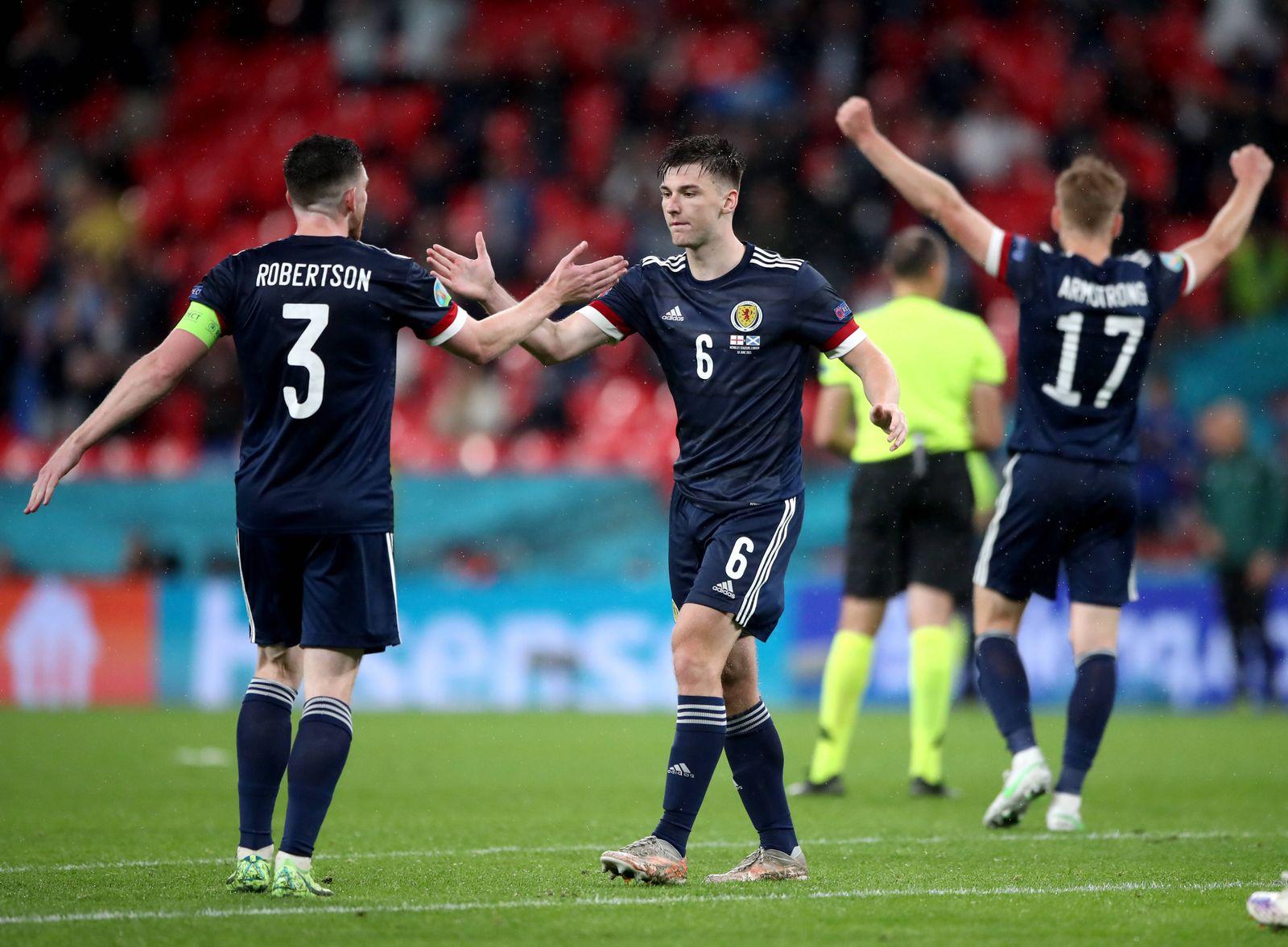 England v Scotland - UEFA EURO, EM, Europameisterschaft,Fussball 2020 - Group D - Wembley Stadium Scotland s Andrew Robe