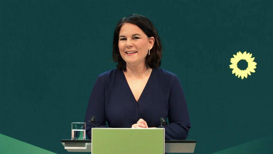 Die neue Kanzlerkandidatin der Grünen: Annalena Baerbock