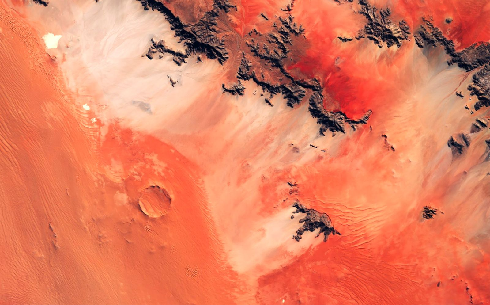 Roter Kamm impact crater
