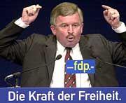 """Umstrittener Parteivize Möllemann: """"Hier entsteht in Deutschland so etwas wie eine Haider-FDP"""""""