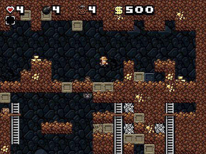 NUR ALS ZITAT Screenshot Spieletrend Permadeath / spelunky