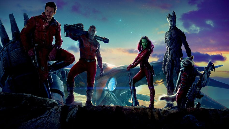 Die »Guardians of the Galaxy« aus dem gleichnamigen Film