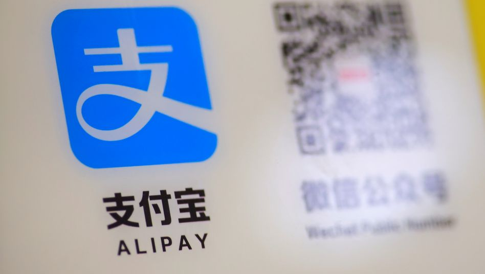 Alipay-Logo: Verbot soll erst in 45 Tagen in Kraft treten