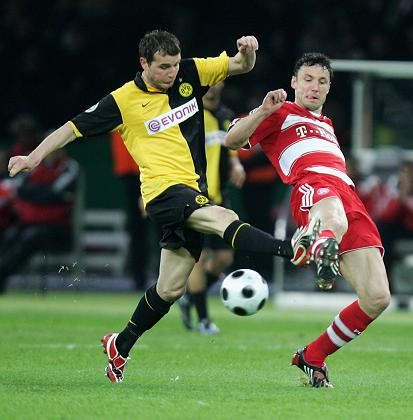 Alexander Frei (l.): Mit dem BVB um den inoffiziellen Supercup