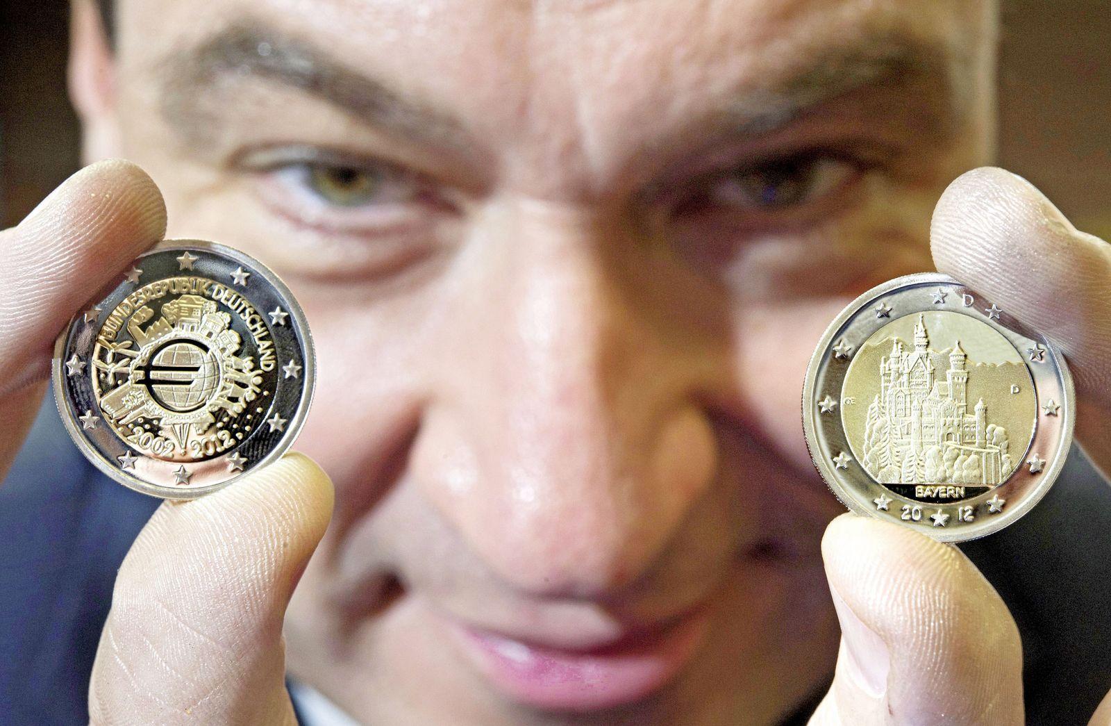 NICHT VERWENDEN Markus Söder / Euro