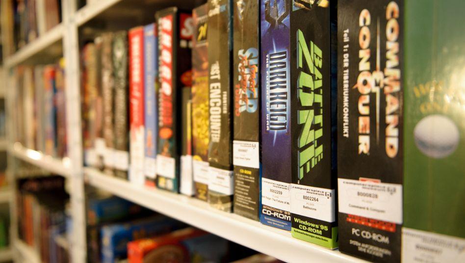 Softwaresammlung des Computerspielemuseums Berlin