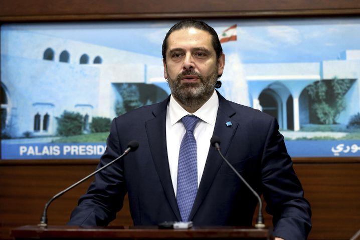 Libanons Premier Saad Hariri: Seine Reformversprechen kommen nicht an bei den Menschen
