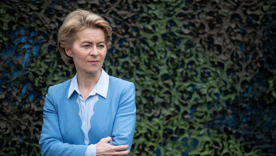 Noch-Verteidigungsministerin Ursula von der Leyen: Zustimmung unwahrscheinlich