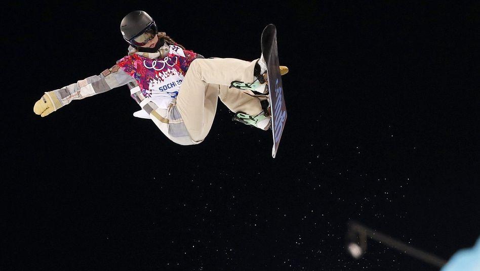 Snowboarderin Farrington: Gold in der Halfpipe