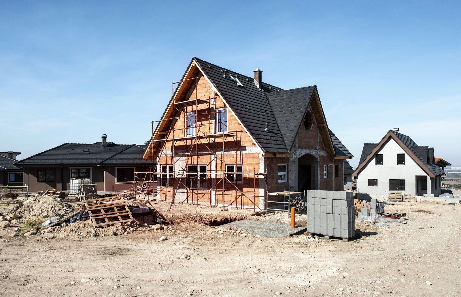 Bulgaria Plovdiv one family house under construction property released PUBLICATIONxINxGERxSUIxAUTx