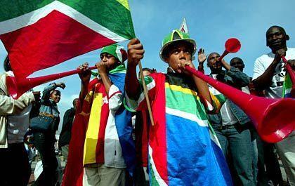 Kinder in Kapstadt: Vorfreude auf die WM