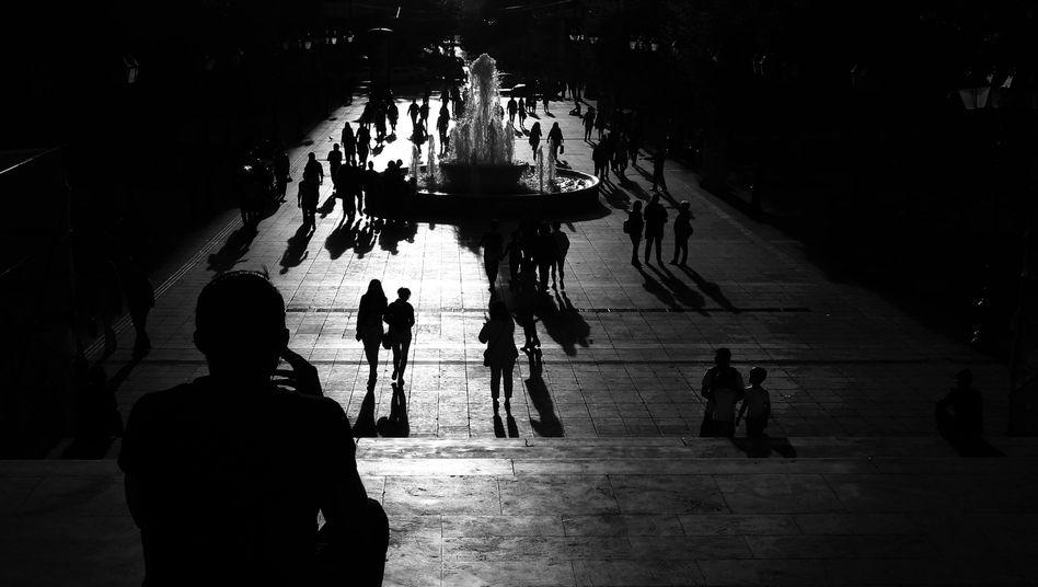 Syntagma-Platz in Athen: Griechenlands Unsicherheit wächst und wächst
