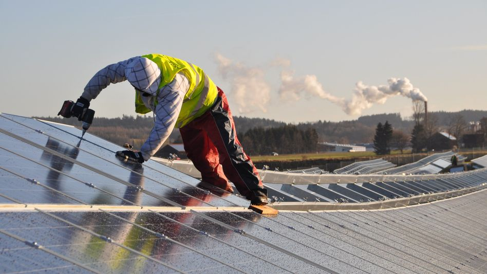 """Sonnenkollektoren im Solarpark in Leutkirch: """"Der Subventionsbedarf wächst und wächst"""""""