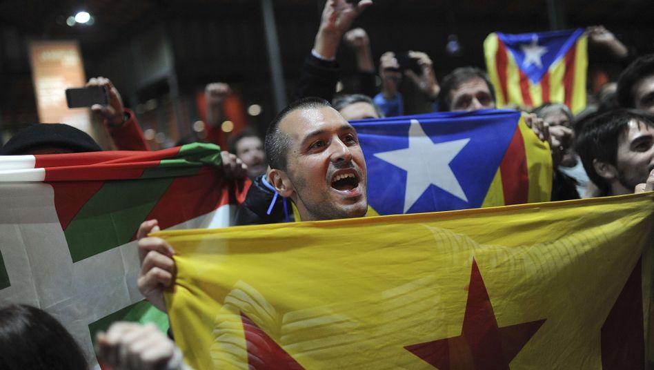 Volksbefragung: Zwei Millionen Katalanen stimmen für eigenen Staat