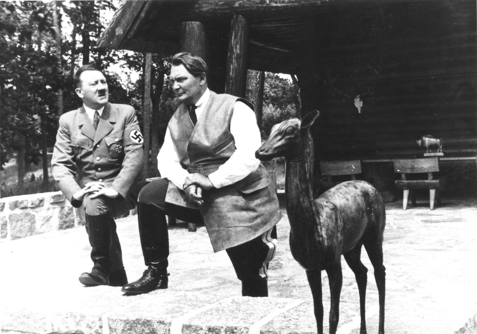 Hitler, Goering, & Deer