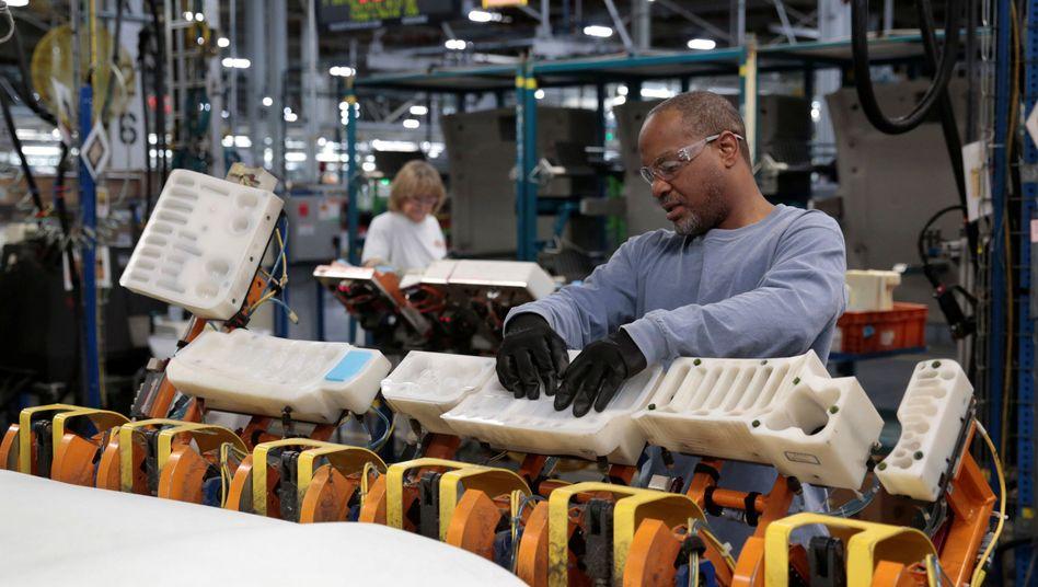 Produktion bei General Motors in Michigan