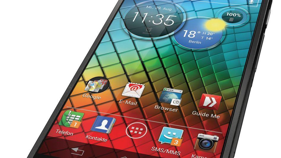 Motorola-Handy mit Android: Microsoft siegt vor Gericht