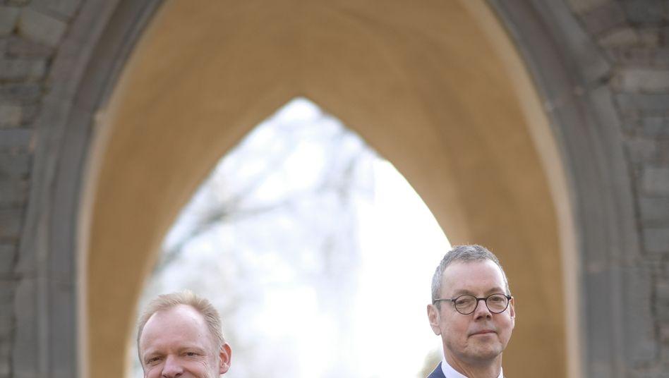Clemens Fuest und Peter Bofinger