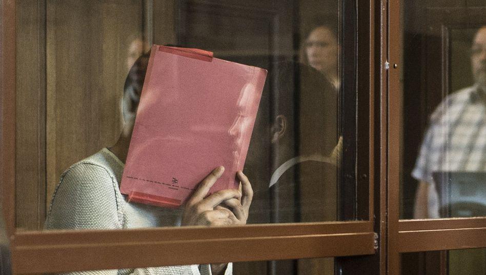 Der Angeklagte Svetoslav S. im Berliner Landgericht