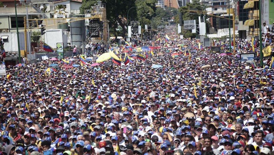 Caracas am Samstag