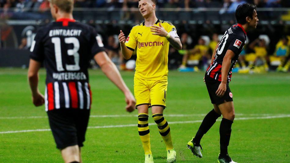 Marco Reus ärgert sich gegen Frankfurt über eine vergebene Chance